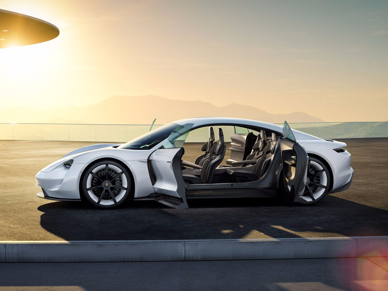 Porsche Mission E All-Electric Car: Pictures, Facts - Business Insider for Electric Porsche