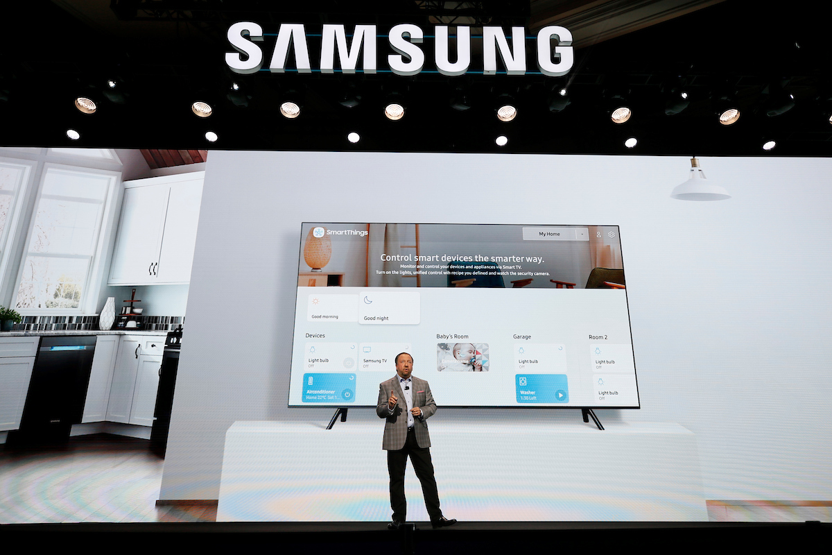 Samsung CES Photography: Press Conference