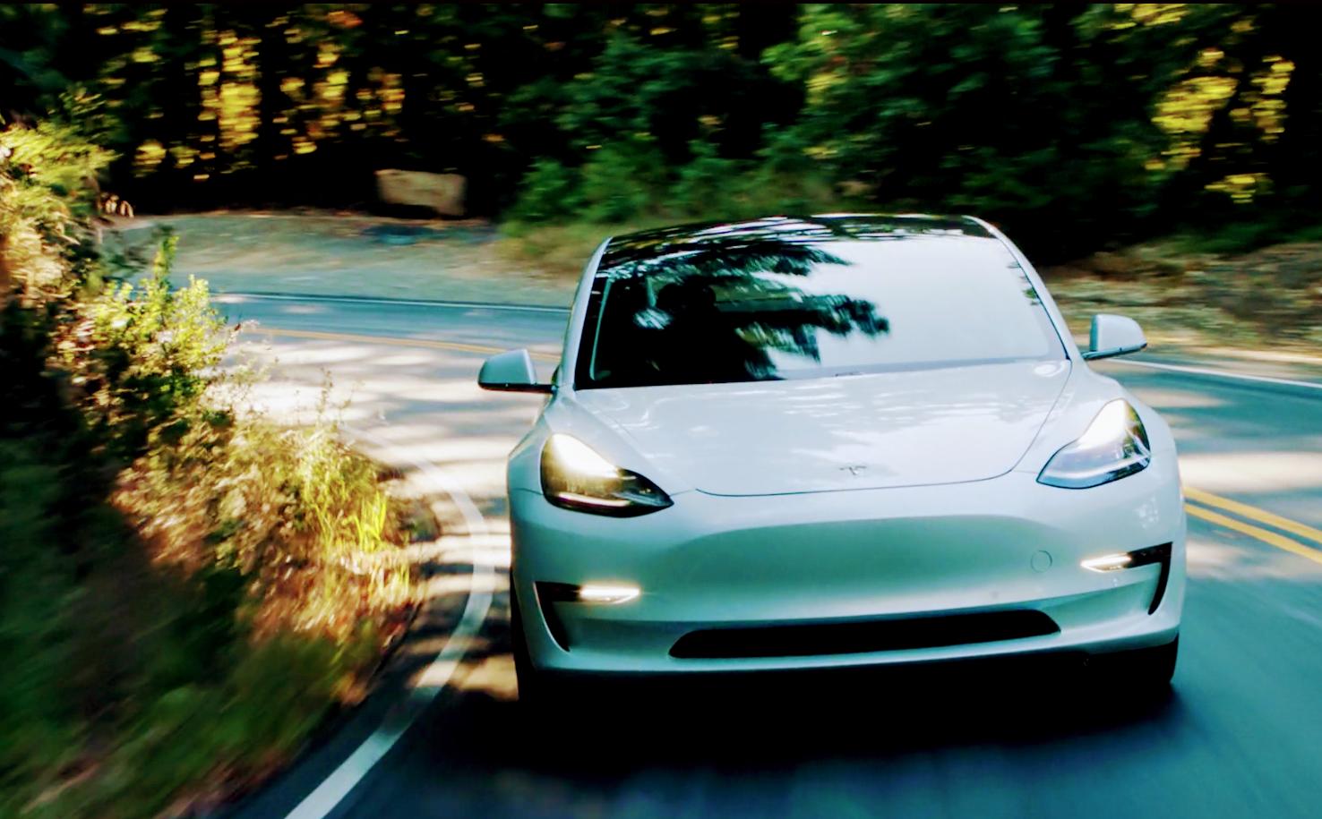 Tesla-Model-3-white