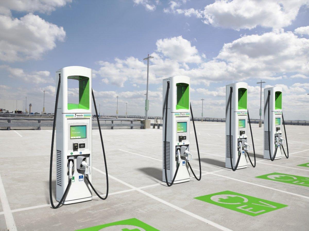 Ladesäulen Electrify America