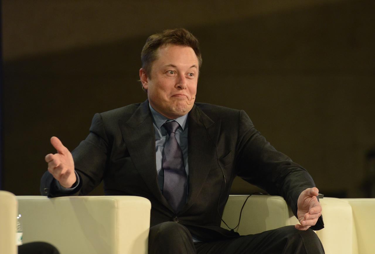 Tesla Motors CEO Elon Musk Visits Beijing