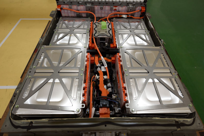 Tour of Electric Vehicle Battery Recycling Factory By Nissan Motor and Suimitomo Corp.
